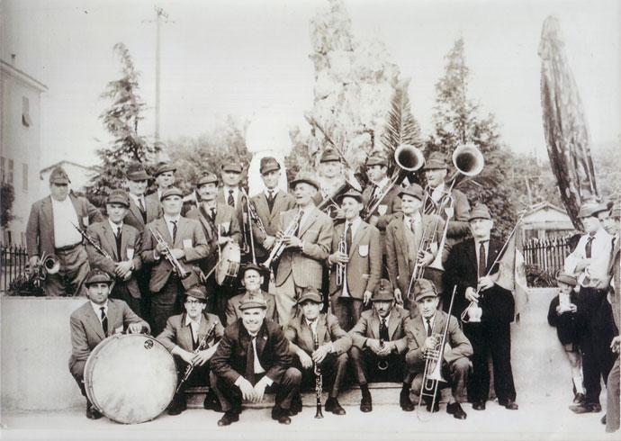 Banda Alpina di Corneliano (Archivio Giorello)