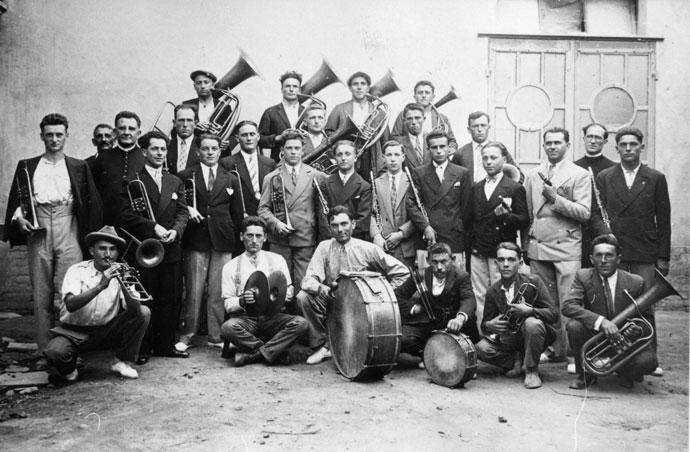 banda di Corneliano (Archivio Contino)