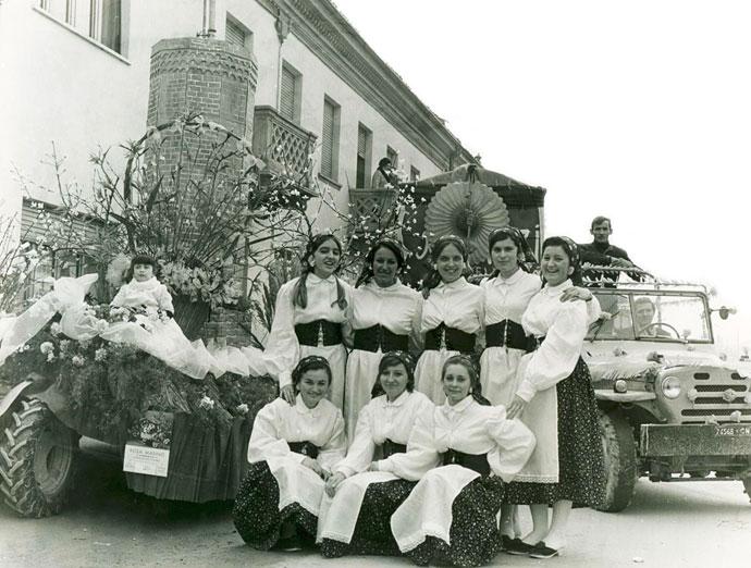Ancora un'immagine del Carvé vej del 1969.