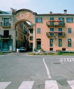 Il paese di Corneliano.