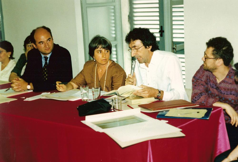 Antonio Adriano relatore ad un Convegno tenutosi al Castello Alfieri.